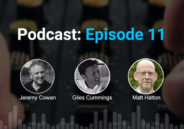 Podcast 11: Live events are coming back: But how will they change after Covid?